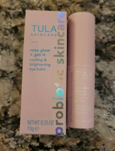 TULA SKINCARE Rose Glow & Get It Cooling & Brightening Eye Balm MSRP $30