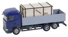 Faller 161597 H0 Car System LKW Scania R 13 HL Pritsche mit Holzkiste Herpa