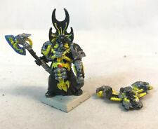 Chaos Space Marine Sorcerer METAL Pewter Force Axe Power