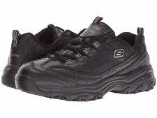 Skechers 76605 Women's DLITES SR-MARBLETON Slip Resistant Work Shoes Black
