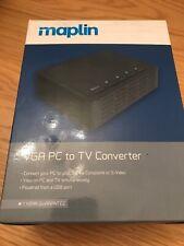 maplin VGA PC to TV Converter ~ Pre Owned