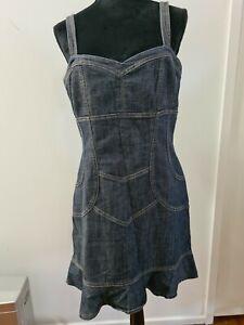 Ladies Denim Dress Size 14