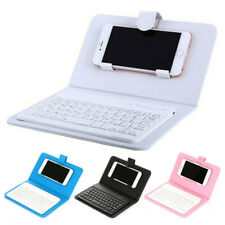 Wireless Keyboard Case Slim Mini Bluetooth Key Board Mobile for iPhone / Android