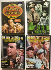 The Andy Griffith Show 4 DVD Lot Collectors Edition Front Row Features