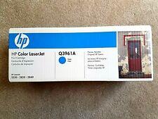 Q3961A Genuine HP Cyan Toner Color LaserJet 2550 2820 2840 New/Sealed