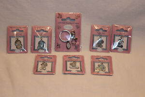 Me To You Blue Nose - Collectable Keyring plus 7 Charms all new in packets
