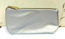 Elemis Large Silver Soft Lined Make Up Bag New