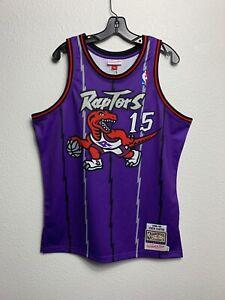 Mens Mitchell & Ness NBA Toronto Raptors Vince Carter Dino M&N Vintage (XL)