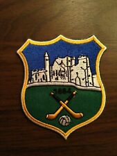 Tipperary County GAA Gaelic Hurling Football iron on/ sew embroidered patch