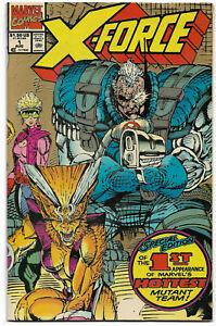 X-FORCE#1 VF/NM 1991 SECOND PRINT MARVEL COMICS