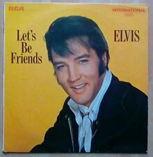 ELVIS PRESLEY  Vinyl LP  Let's Be Friends, EX