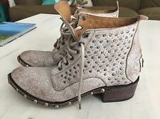 Australia Luxe Vintage Studded Ankle Boots Western 7