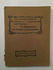 PARFUMS MEDICAMENTS PRODUITS PHOTOGRAPHIQUES 1928 LIGNON BLANC CHIMIQUE ILLUST