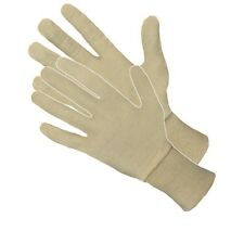 3 PAIRS Cotton Safety Gloves PROTECTION INSERTS 100% COTTON