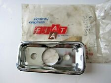 FIAT 850 SPIDER 1971-73 LEFT REAR SIDE MARKER SURROUND NEW OLD STOCK