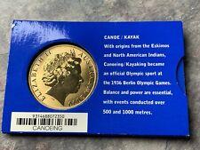 CB2139) Australia 2000 RAM Sydney 2000 Olympics Canoe / Kayak $5 Bronze coin
