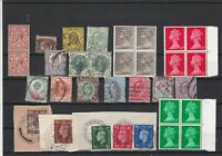 Great Britain Stamps some Blocks ref R 19383
