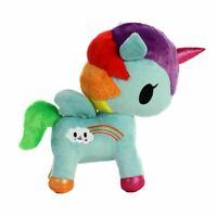 """Tokidoki Pixie Rainbow Unicorno Plush Soft Toy Unicorn - 10"""" Aurora"""