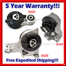 M201 Fit 08-12 Ford Taurus/ Lincoln MKS/ Mer Sable 3.5L 3.7L Motor & Trans Mount