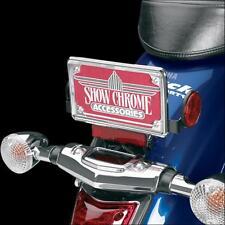 Show Chrome Contours License Plate Trim  4-253*