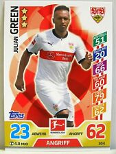 Match Attax 2017/18 Bundesliga - #304 Julian Green - VfB Stuttgart
