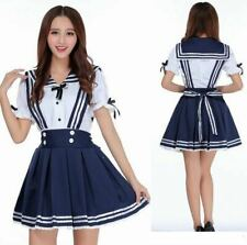 Japanese High School Girl Uniform Dress Anime Outfit Comic Con Cosplay UK SELLER