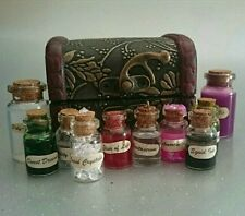 Harry Potter Inspired Potion Box Filled with Potion Bottles