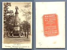 M. M. Couvée, Pays-Bas, La Haye Le monument à la mémoire du duc de Saxe Weimar
