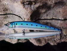 "Strike Pro 3 1/2"" ALPHA Diver Deep Minnow JL-061F#136 BLUE SARDINE for Walleye"
