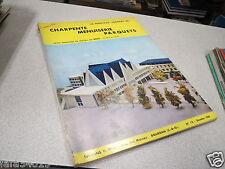 LE NOUVEAU JOURNAL DE CHARPENTE MENUISERIE PARQUETS N° 12 1958 SPECIAL H VIAL *