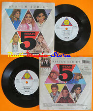 LP 45 7''5 FIVE STAR System addict Luxury of life 1985 uk TENT PB40515 *mc dvd