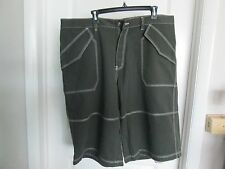 MENS NWT GREEN KHAKI DICKIES SHORTS WAIST 42 100% Cotton, Casual Shorts, Flat
