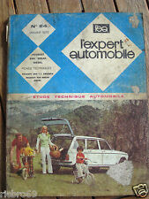 Revue Technique Automobile - Peugeot 204 Break - Diesel - N° 84 - Janvier 1973