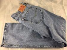 Levi Strauss & Co. Mens Original 505 Jeans Blue Cotton ACTUAL W36xL30