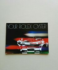 BOOKLET YOUR ROLEX OYSTER ANNO 1982 ENG
