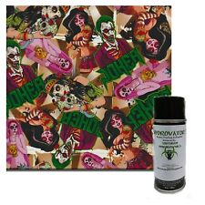 Hydrographic Film Water Transfer Hydro Dipping Dip Activator Amp Zombie Joker Kit