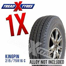 1x New 215/75R16 C Kingpin Tyre Fitting Available 215 75 16 Comercial Van Tyres