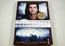 Braveheart Dvd 2-Disc Special Collector's Edition Mel Gibson, Sophie Marceau