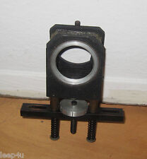 VINTAGE MACRO? EXTENSION BELLOWS TUBE  THREADED MOUNT  CAST IRON?  LEATHER?