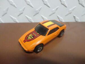 Loose Hot Wheels Orange Upfront 924 Porsche w/Blackwall Wheels
