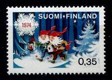Weihnachten. Weihnachtszwerge. 1W. Finnland 1974