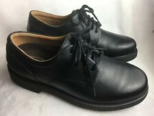 New Rockport Men's Size 7 W Oxfords Dress Shoes Black Leather NWOB, Wide, USA