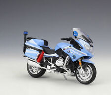 1:18 Maisto BMW R1200RT Italy Police Motorcycle Bike Model New