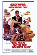 """THE MAN WITH THE GOLDEN GUN Poster [Licensed-NEW-USA] 27x40"""" Theater Size (Bond)"""