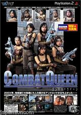 Used PS2 Combat Queen SONY PLAYSTATION 2 JAPAN IMPORT