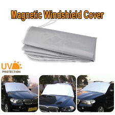 Magnetic Car Front Window Sun Shade Snow Ice Frost Windshield Protect Cover