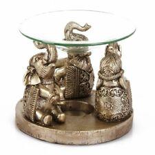 Naturecraft Elephant  Candle Tea Light Oil Burner Holder