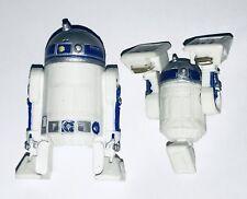 Star Wars R2-D2 Toy Figure 2004 Lucas Films PLUS BONUS Posable R2D2 Mini Figure