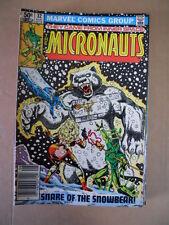 MICRONAUTS #32 1981  Marvel Comics  [G471]
