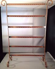Fashion 60 Pairs of Earrings Jewellery Display Organizer Holder Stand - Metal -